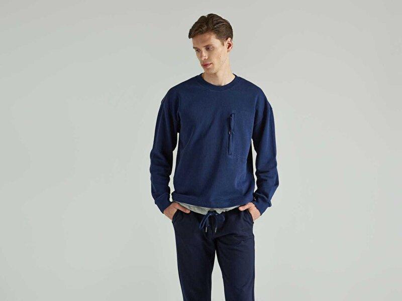 Bağcıklı Sweatshirt