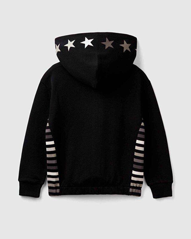 Yıldız Baskı Sweatshirt