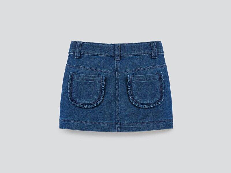 Felpa Denim Mini Jean Etek
