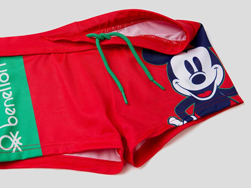 Mickey Mouse Kısa Mayo Şort