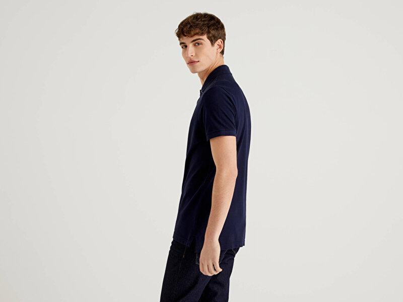 Slim Fit Kısa Kollu Polo Tshirt