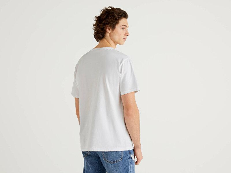 Recycle Baskılı Tshirt